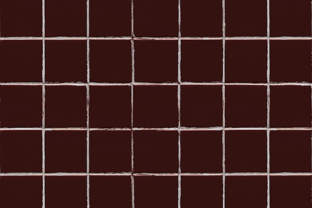 Brown square tiled texture background
