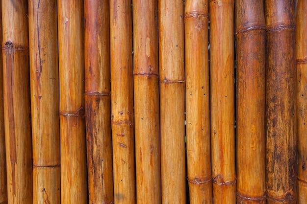 竹の茶色の表面の質感
