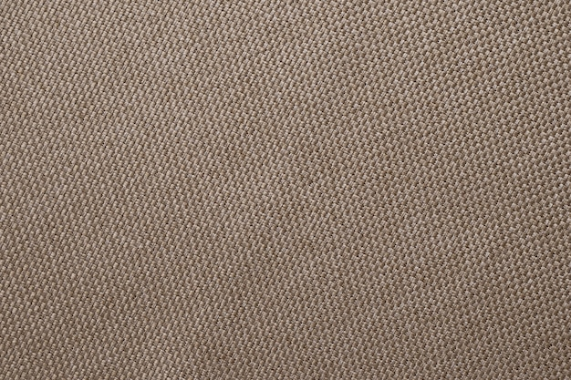 Brown texture of sackcloth. linen fabric surface.