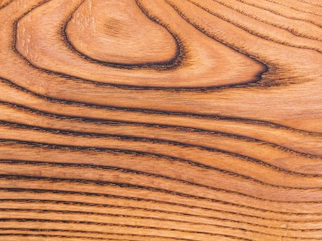 연례 고리와 나무 보드의 갈색 질감 표면