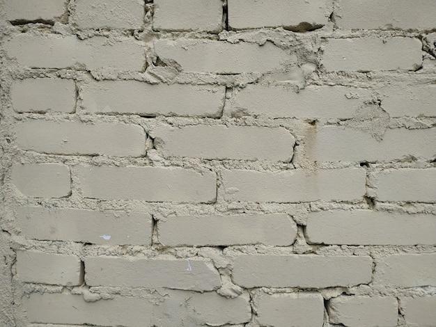 茶色の織り目加工のレンガの壁