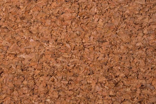 Brown, textured cork tree background, close up