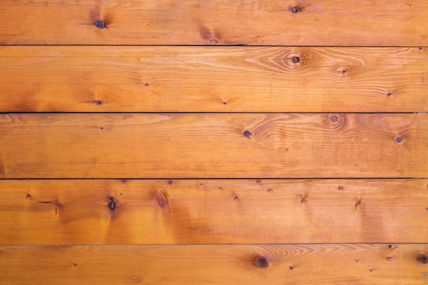 Brown timber background with the nail in the vintage style, wooden wall of the countryside house of the farmer
