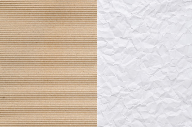 Brown and white paper useful as a background