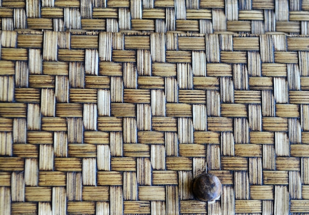 Brown wicker texture as background