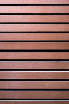 Brown wood duct panel or roof batten background