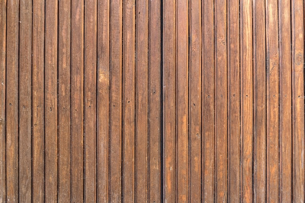 茶色の木の板の背景とテクスチャー。