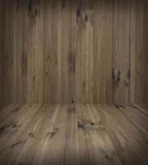 茶色の木の板のテクスチャ背景