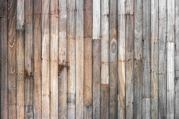Brown wood plank wall texture background (natural wood patterns) for design.