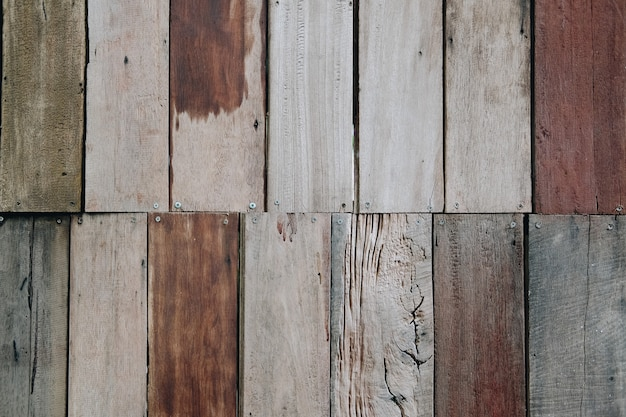 Brown wood planks texture with natural pattern abstract background for design and decoration