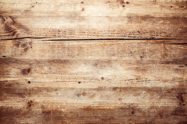 Brown wood texture. abstract background, empty template. old crackled wooden texture