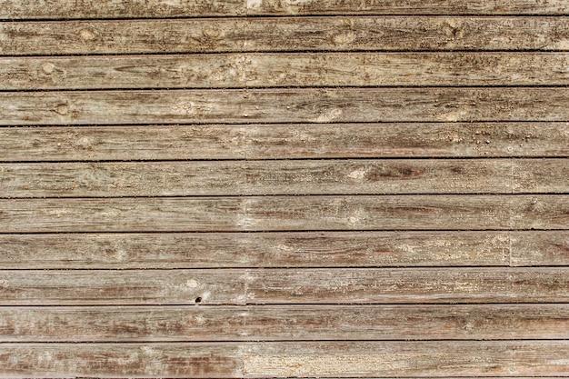 茶色の木目テクスチャ。抽象的な背景、空のテンプレート。古いひびの入った木製のテクスチャ