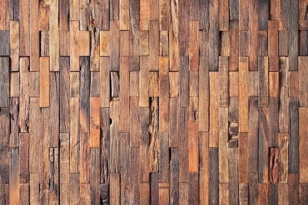 Коричневая текстура древесины декоративной панели. настенные или половые доски
