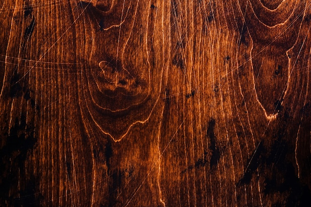 Текстура коричневого дерева