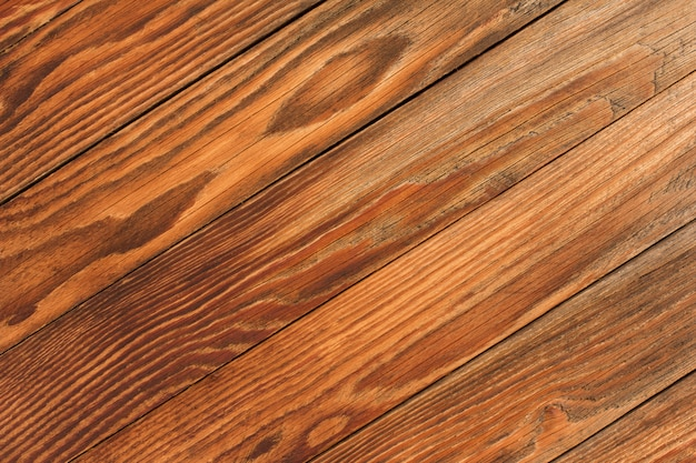 Brown wooden background texture with copyspace