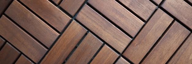 Напольные покрытия из коричневой деревянной террасной плитки для квартир и домов