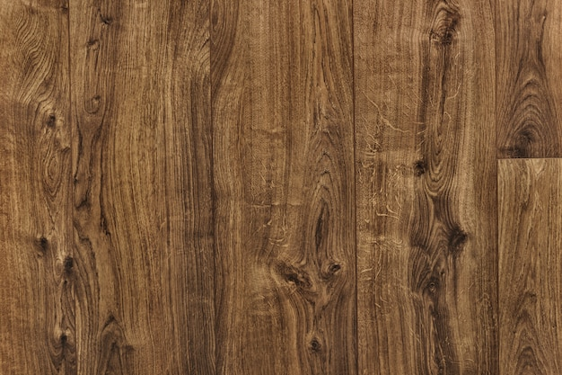 Brown wooden floor textured background