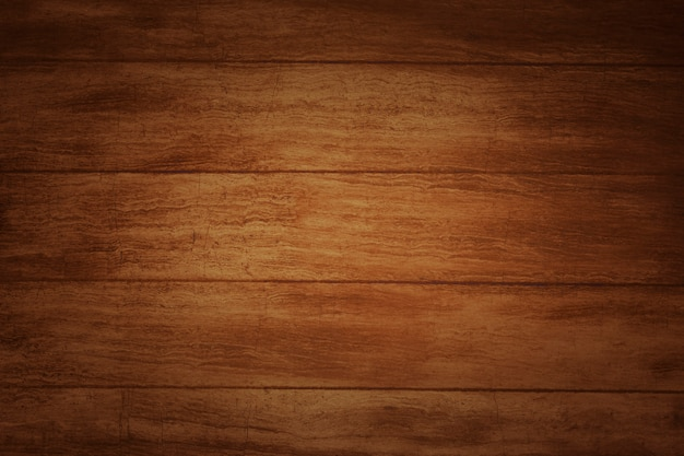 Brown wooden floor