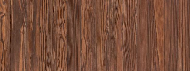 茶色の木製テーブル、背景として古い木の質感