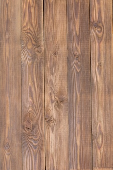 Brown wooden texture, board vertically