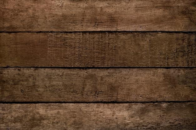 茶色の木のテクスチャの床の背景