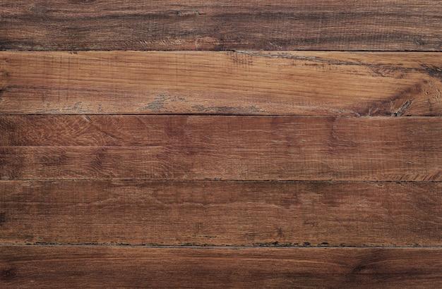 Brown wooden wall background, texture of dark bark wood