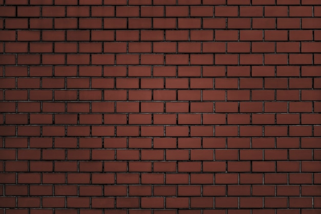 Brownish-red brick wall textured