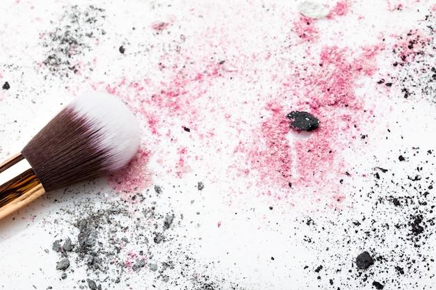 Brush and powder background