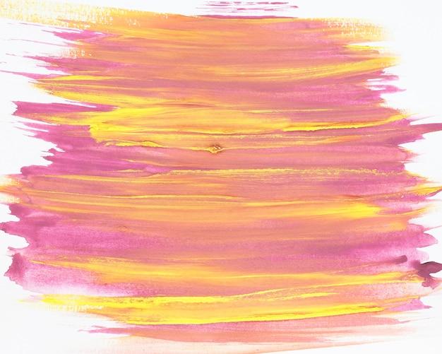Brush stroke mixed paint