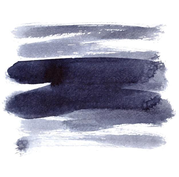 브러시 스트로크 흰색 배경에 고립입니다. 디자인 요소 및 텍스트 공간