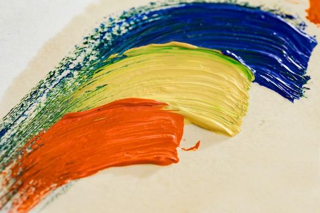 Кисти и краски для рисования