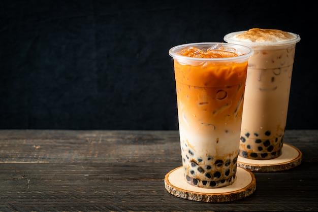 Пузырьковый чай, боба или жемчужный чай с молоком