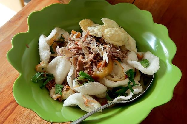 Bubur ayam, indonesian chicken porridge