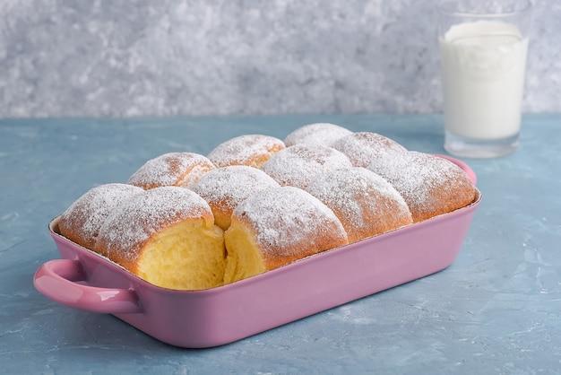 Buchteln  sweet baked rolls