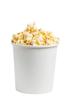 A bucket of popcorn