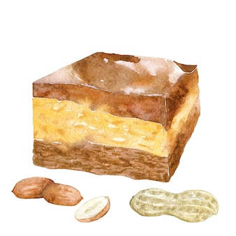 Buckeye fudge with nuts