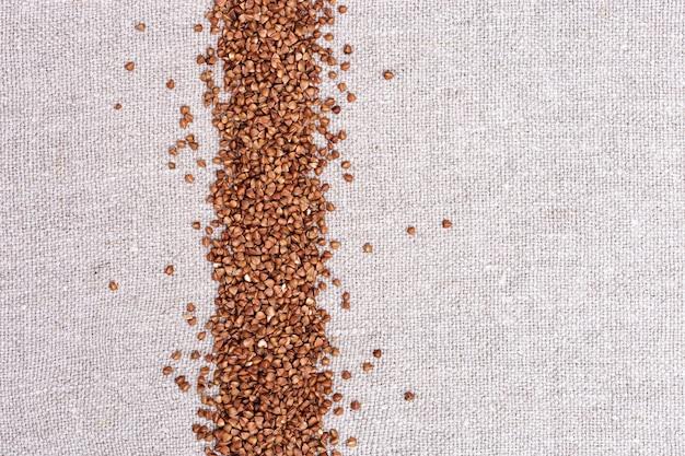 袋布の表面にシリアルbuckwhea