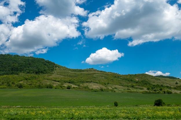 Bucovina、ルーマニアの夏の風景