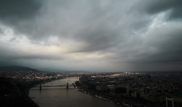 Budapest before the strom