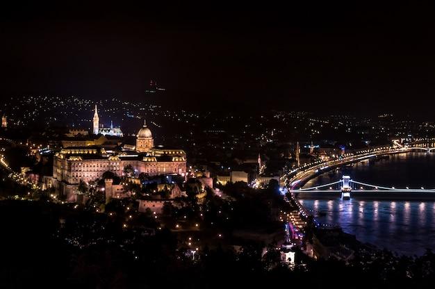 Budapest danube river bridge parliament hungary