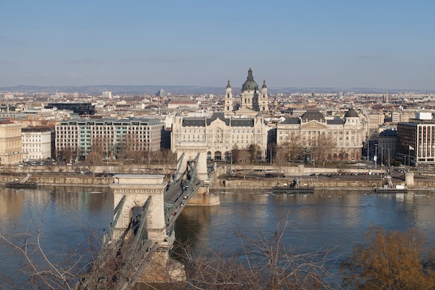 Budapest hungary in the city center