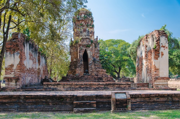 Buddha  at ayutthaya, thailand.