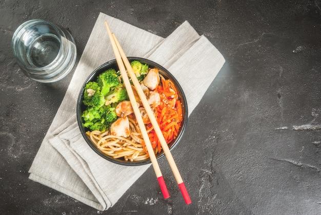 アジアンスタイルの仏bowl