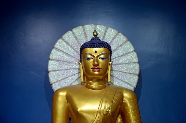 Buddha gold in temple