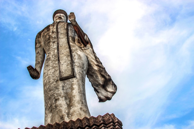 Buddha hindu statue at sala kaew ku nongkhai thailand