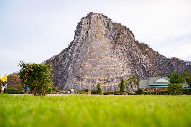 Buddha mountain in pattaya