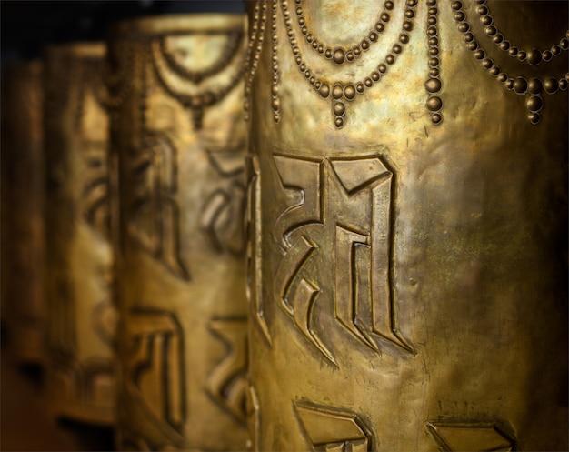 Буддийские молитвенные колеса