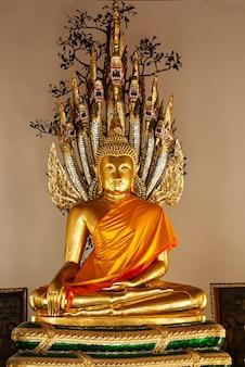 Buddhist temple in bangkok thailand