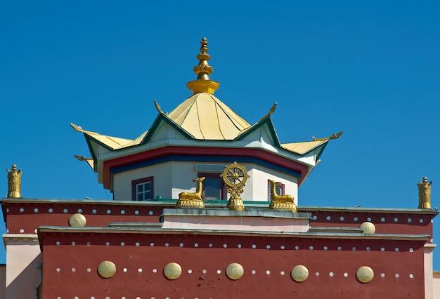 Verhne-beryozovsky datsan 울란우데 시에 있는 불교 사원. 부랴트 공화국. 러시아.