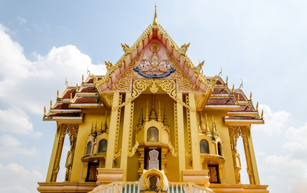 Buddist temple in thailand